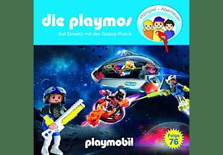 Die Playmos - Die Playmos-(76)Auf Einsatz Mit Der Galaxy Police  - (CD)
