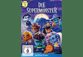 Die Supermonster - DVD-Staffelbox 2 - Die komplette 2. Staffel (1 - 12) [DVD]