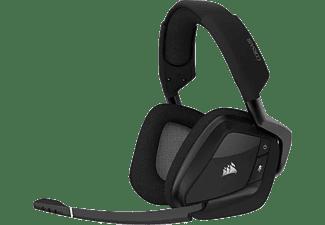 Auriculares gaming - Corsair CA-9011201-EU, Para PC, PlayStation 4, Inalámbricos, Micrófono, 16h autonomía