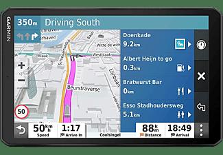 """GPS - Garmin DEZL LGV800 MT-D EU, Para camión, 8"""", Europa, Asistente de voz, Negro"""