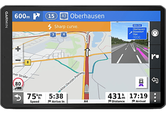 """GPS - Garmin DEZL LGV1000 MT-D EU, Para camión, 10"""", Europa, Asistente de voz, Negro"""