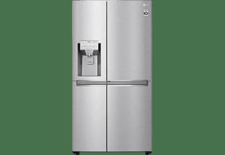 Frigorífico americano - LG GSJ960NSVZ, 625 L, Total No Frost, 179 cm, Acero Inoxidable