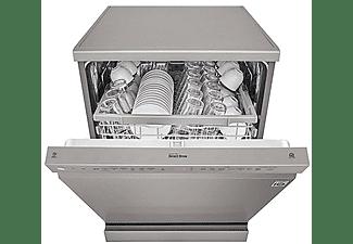 Lavavajillas - LG DF222FP, Independiente, 14 servicios, 9 programas, 60 cm, ThinQ™, Direct Drive, NFC, Inox