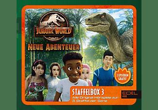 Jurassic World-neue Abenteuer - Staffelbox 3  - (CD)