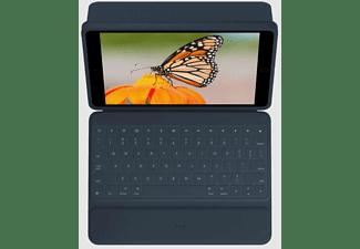 LOGITECH Tastatur-Case Rugged Combo 3 für iPad (7./8. Gen), DE, Blau