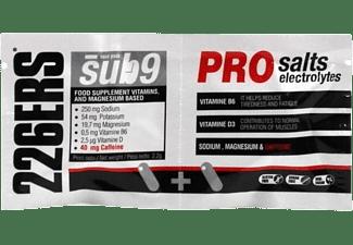 Suplemento alimenticio - 226ERS SUB9 Pro Salts Electrolytes, 40 duplos, 40 mg cafeína/duplo, Multicolor