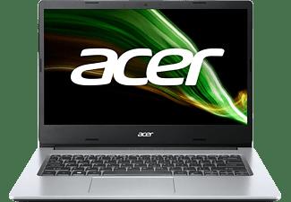 """Portátil - Acer Aspire 1 A114-33, 14"""" FHD, Intel® Celeron® N4500, 4 GB RAM, 64 GB eMMC, Intel UHD, W10H, Plata"""