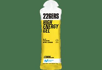 Gel energético - 226ERS High Energy Gel, 50 g de carbohidratos, Ciclodextrina, Limón, Sin cafeína, Multicolor