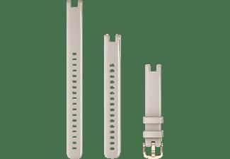 GARMIN Lily™-Armbänder (14 mm) , Ersatzarmband, Garmin, Achatgrau/Roségold