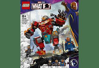 LEGO 76194 Tony Starks sakaarianischer Iron Man Bausatz, Mehrfarbig