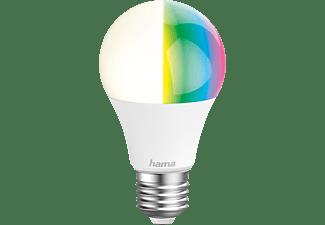 HAMA E27, 10W, RGBW WLAN-LED Lampe Multi-Colour