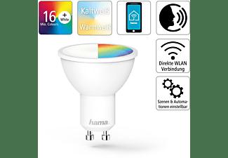 HAMA GU10, 5.5 W, RGBW WLAN-LED Lampe Multi-Colour