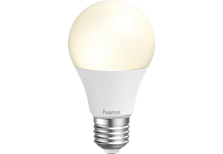 HAMA E27, 10W WLAN-LED Lampe Warmweiß bis Tageslicht