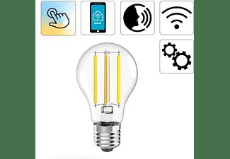 HAMA Retro, E27, 7 W WLAN-LED Smart Glühbirne Warmweiß bis Tageslicht