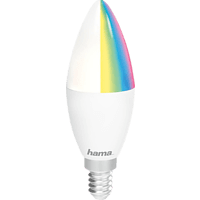 HAMA WLAN-LED-Lampe Glühbirne RGB, Weiß