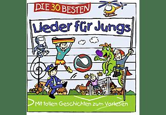 Simone Sommerland, Karsten Glück, Die Kita Frösche - Die 30 Besten Lieder Für Jungs  - (CD)
