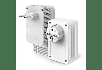 Adaptador PLC - TP-Link TL-WPA7617 KIT, Pack de 2 unidades, 1000 mbps, Doble Banda AC1200, Gigabit, Blanco
