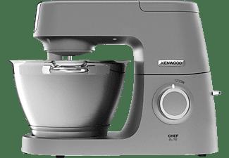 KENWOOD KVC 5391 S Chef Elite Küchenmaschine inkl. 6 Zubehörteile Grau/Edelstahl (Rührschüsselkapazität: 4,6 Liter, 1200 Watt)