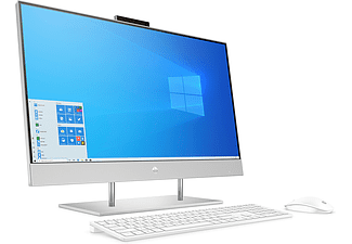 "All in one - HP 27-dp1004ns, 27"" FHD, AMD Ryzen™ 7 4700U, 16 GB RAM, 1 TB SSD, Radeon™ Graphics, W10, Plata"