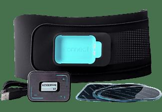 Electroestimulador - Slendertone Connect Abs Belt, 5 Programas, Bluetooth, Pantalla OLED, Negro