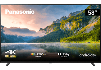 PANASONIC TX-58JXW834 LED TV (Flat, 58 Zoll / 146 cm, UHD 4K, SMART TV, Android TV)