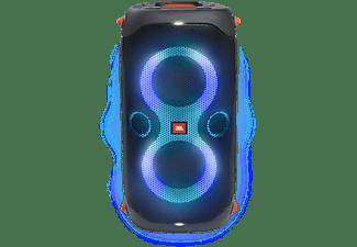 Altavoz inalámbrico - JBL PartyBox 110, 12 h, IPX4, Para Interiores y Exteriores, Iluminación LED, Negro