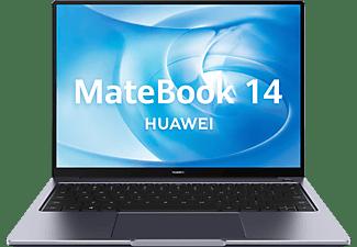 "Portátil - Huawei MateBook 14 2020, 14"", Intel® Core™ i5-10210U, 8 GB, 512 GB SSD, Intel® UHD, W10 Home, Gris"