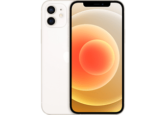 "Apple iPhone 12, Blanco, 128 GB, 5G, 6.1"" OLED Super Retina XDR, Chip A14 Bionic, iOS"