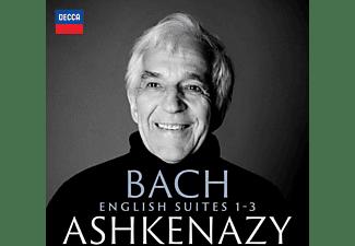 Vladimir Ashkenazy - Bach: English Suites 1-3 [CD]