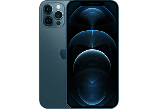 """Apple iPhone 12 Pro Max, Azul pacífico, 256 GB, 5G, 6.7"""" OLED Super Retina XDR, Chip A14 Bionic, iOS"""