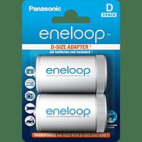 ENELOOP Mono Adapter D (BQ-BS1E/2E D), 2er Pack
