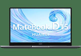 """Portátil - Huawei MateBook D15, 15.6"""", Intel® Core™ i5-10210U, 8 GB, 512 GB SSD, Intel® UHD, W10 Home, Gris"""