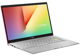 "Portátil - Asus VivoBook S14 S433EA-EB08, 14 "" FHD, Intel® Core ™i5-1135G7, 8 GB, 512 GB, Iris® Xe, FDOS, Rojo"