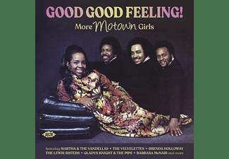 VARIOUS - Good Good Feeling!-More Motown Girls [CD]