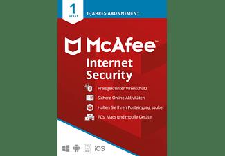McAfee Internet Security 1 Gerät - 1 Jahr 2021, Code in a Box [PC, iOS, Mac, Android] - [Multiplattform]