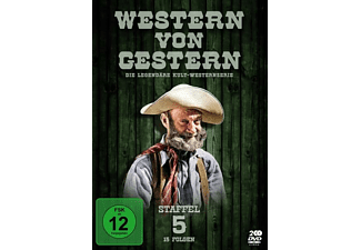 Western von Gestern - Staffel 5 (15 Folgen) [DVD]