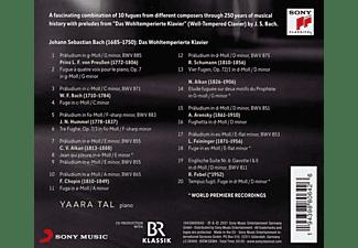 Yaara Tal - Tracing Bach  - (CD)