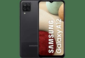 "Móvil - Samsung Galaxy A12 (2021), Negro, 128 GB, 4GB RAM, 6.5"" HD+, Exynos 850, 5000 mAh, Android"