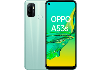 """Móvil - OPPO A53s, Verde, 128 GB, 4 GB, 6.5"""", HD+, Qualcomm Snapdragon 460, 5000 mAh, Android"""