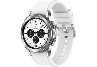 "Smartwatch - Samsung Watch 4 Classic BT, 42 mm, 1.2"", Exynos W920, 16 GB, 240 mAh, IP68, Silver"