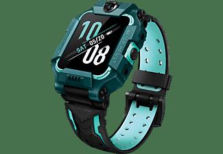 Smartwatch - imoo Z6 Green, Para niños, 95 h, IPX8, Cámara de 8MP+5MP, GPS, Abatible, Verde