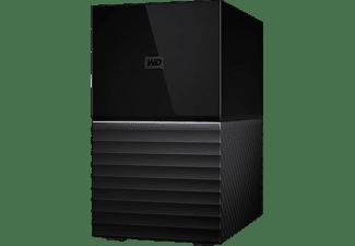 Disco duro externo 4 TB - My Book Duo, (2x 2TB), Sobremesa, RAID, USB 3.1, Protección por Contraseña, Negro