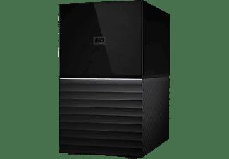 Disco duro externo 16 TB - My Book Duo, (2x 8TB), Sobremesa, RAID, USB 3.1, Protección por Contraseña, Negro