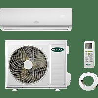 BECOOL BCP18SK2101QW Premium Split Klimagerät Weiß Energieeffizienzklasse: A++, Max. Raumgröße: 160 m³