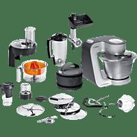 BOSCH MUM59S81DE Home Professional Küchenmaschine Schwarz/Silber (Rührschüsselkapazität: 3,9 Liter, 1000 Watt)