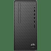 PC Sobremesa - HP M01-F1020ns, Intel® Core™ i3-10100, 8GB RAM, 512GB SSD, UHD Graphics, W10, Negro