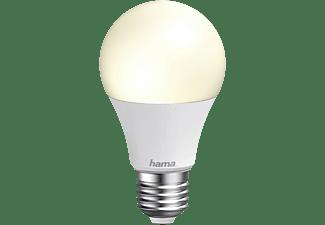 Bombilla inteligente - Hama WiFi LED Light E27, 10 W, Regulable, De 2700 K a 6500 K, Blanco