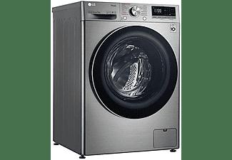 Lavadora carga frontal - LG F4WV5008S2S, 8 kg, 1400 rpm, 14 programas,  Inox