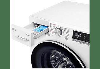 Lavadora - LG F4WV3009S6W, 9 kg, 1400 rpm, 14 programas, Serie 300, Blanco