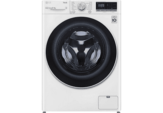 Lavadora secadora - LG F4DN4008N0W, 8 kg lavado, 5 kg secado, 14 programas, 1400 rpm, Blanco